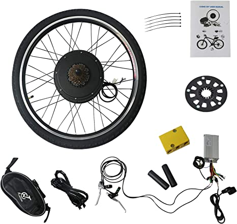 TOYEEKA Kit de conversión de Motor de Bicicleta eléctrico de 25 ...