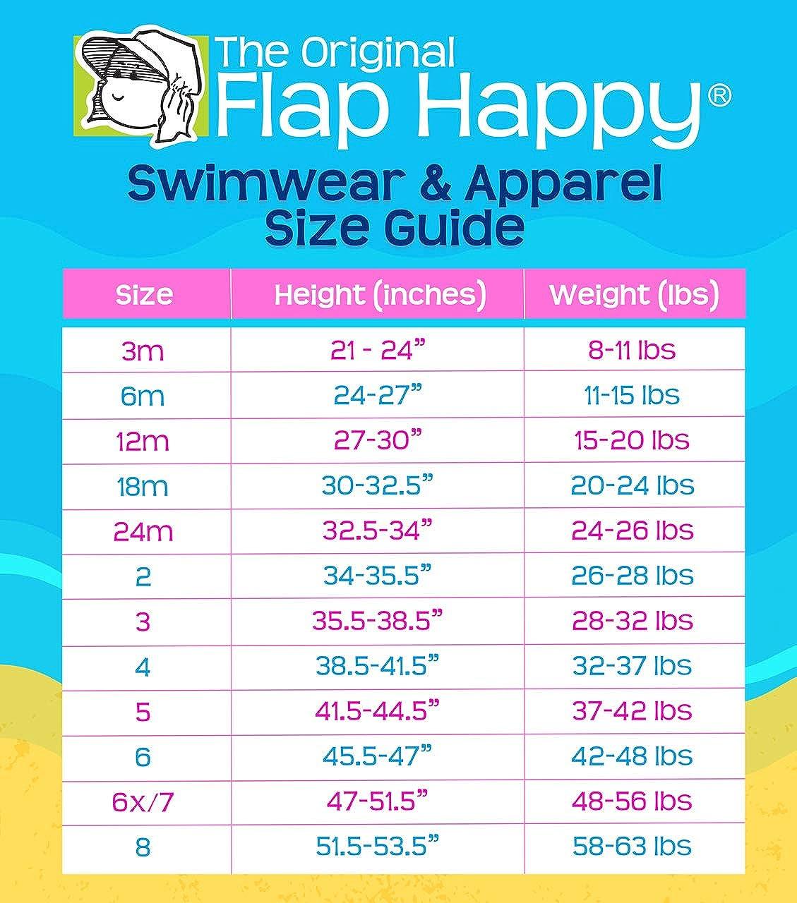 Flap Happy Girls Rash Guard 6 Multi