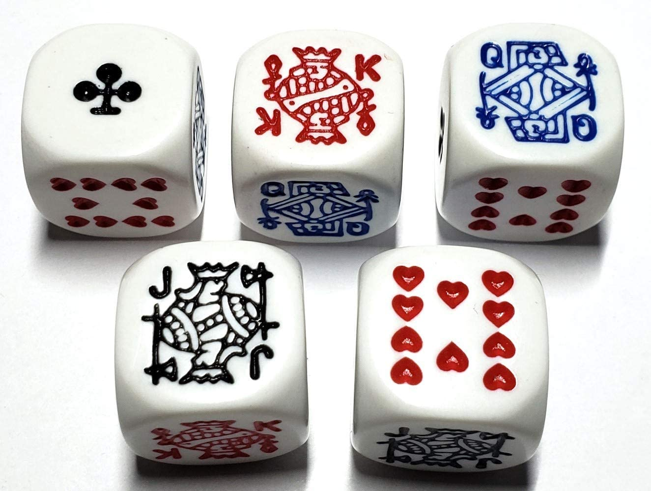 5 Cyber-Deals Las Vegas Style Premium Dice Cup Black//Red with 16mm Dice