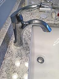 Amazon.com: Moen 6400 Eva One-Handle High Arc Bathroom
