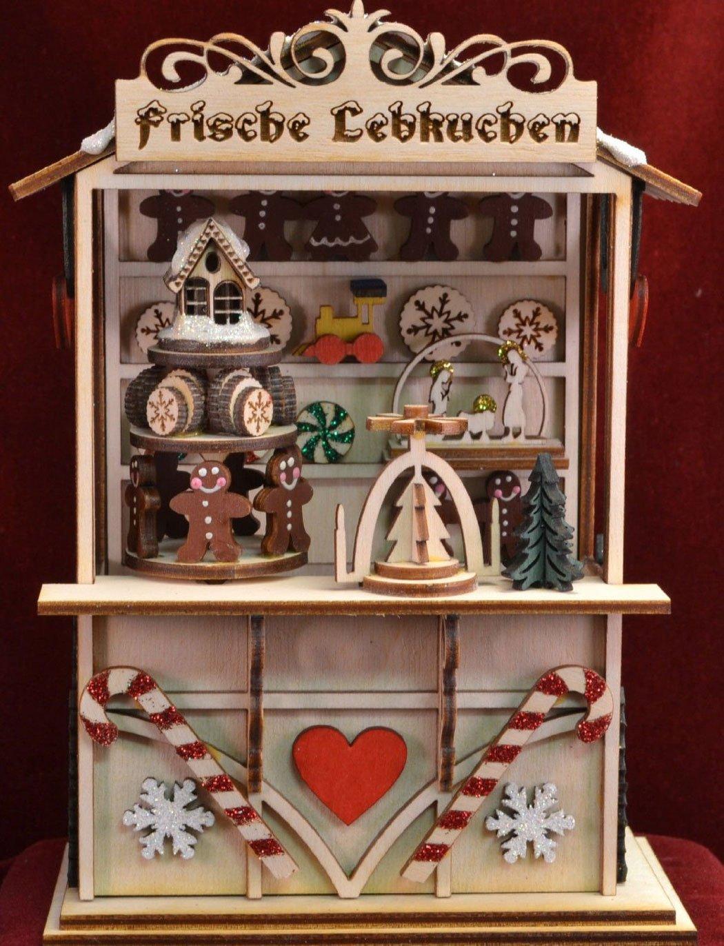 世界的に有名な ジンジャーコテージ – B00U6E2JNG Gingerbread町音楽ボックスgcm105 – B00U6E2JNG, 銀座カレン:a57484e4 --- arcego.dominiotemporario.com