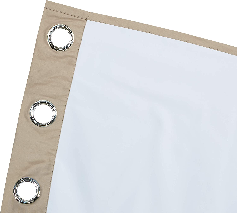 set con occhielli Tende oscuranti avvolgibili 117 x 229 cm Beige Basics