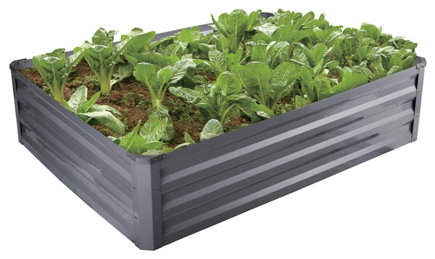 FOYUEE Raised Garden Bed Boxes, Elevated Garden Planting Beds for Growing at Home-a Wonderful Decoration in the Yard 18056 2X2X1 Feet by FOYUEE