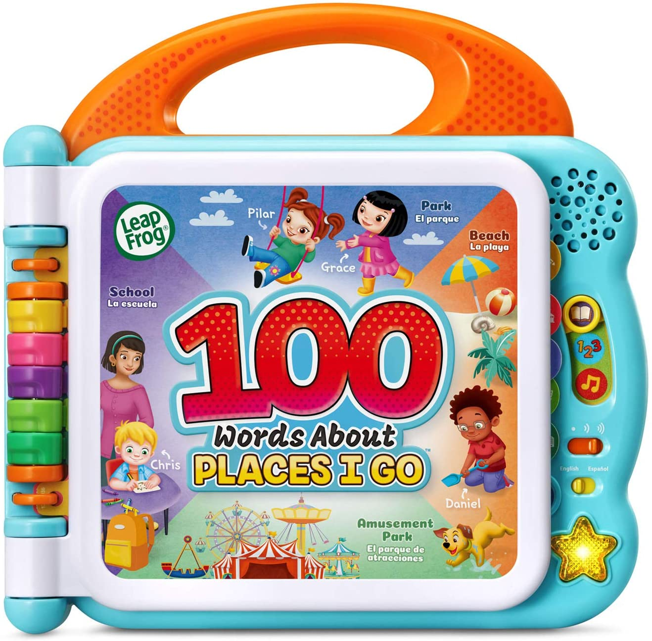LeapFrog Learning Friends 100 Words Baby Book Educational and Interactive