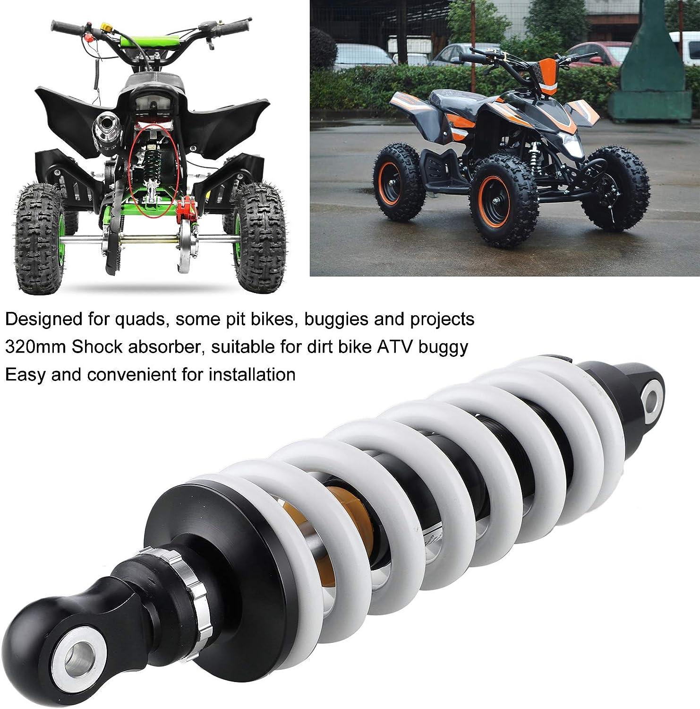 320mm Sto/ßd/ämpfer Motorrad-Sto/ßd/ämpferfederung mit Druckregeld/üse f/ür Motorr/äder