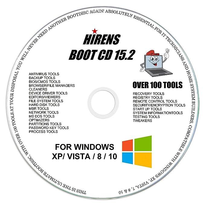 Hiren's Boot CD Utility Disc PC Repair: Amazon co uk: Software