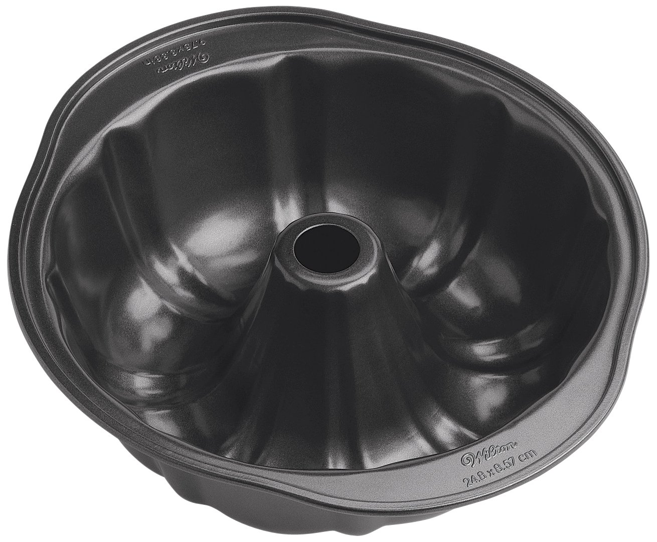 Bundt cake pans for sale - Wilton 2105 6803 Perfect Results Nonstick Fluted Tube Pan Standard