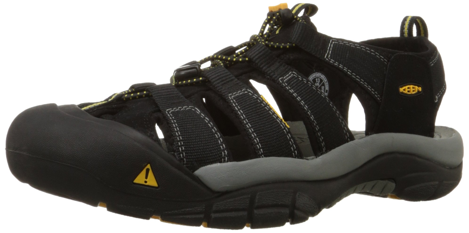 Keen Men's Newport H2 Sandal,Black,12 M US