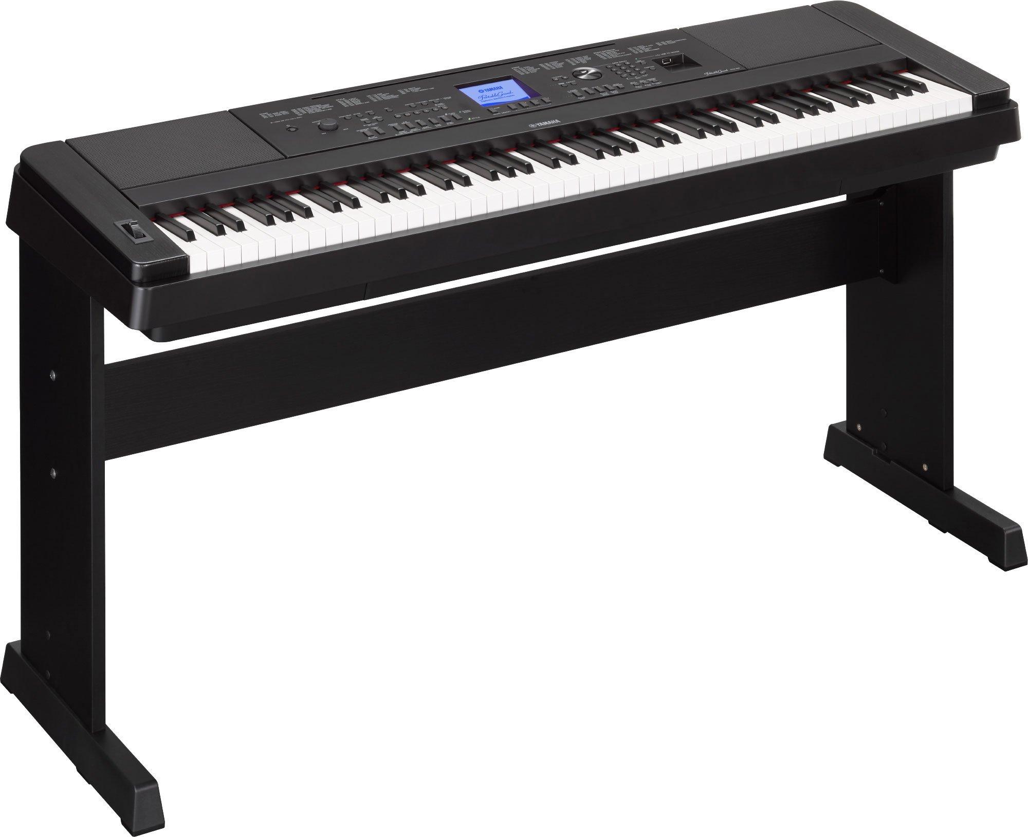 Yamaha DGX660 Digital Piano Education Bundle, Black with Yamaha BB1 Bench and Dust Cover by YAMAHA (Image #2)