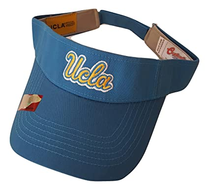 a47d71ee Image Unavailable. Image not available for. Color: NCAA UCLA Bruins Team  Logo Visor