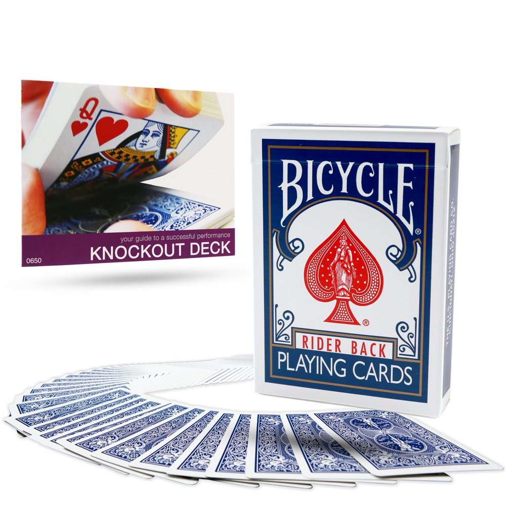 The Bicycle Knockout Deck from Magic Makers - Amazing Magic!