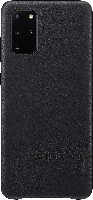 Samsung Leather Smartphone Cover Ef Vg985 Für Galaxy S20 S20 5g Handy Hülle Echtes Leder Schutz Case Stoßfest Premium Schwarz Elektronik