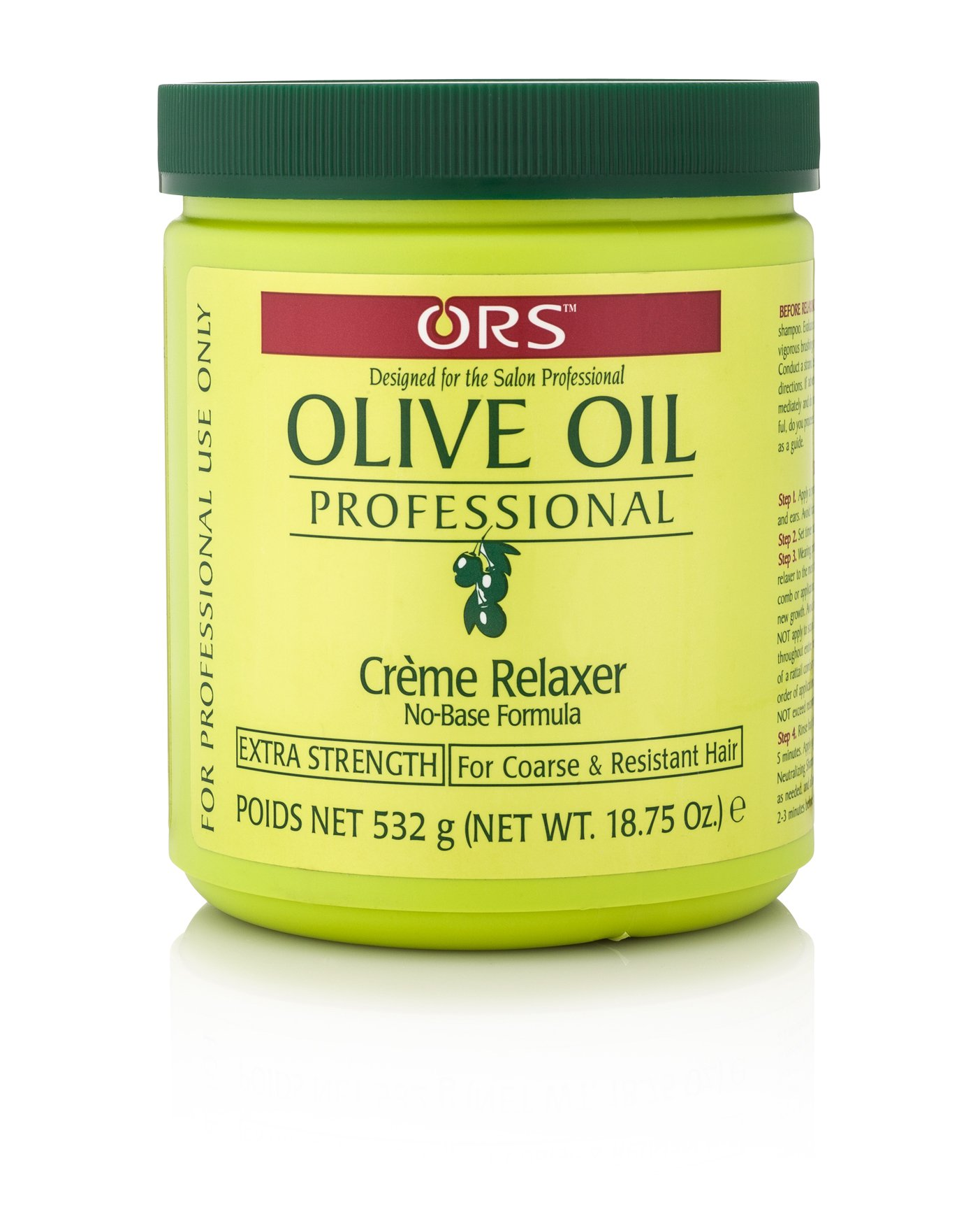 ORS Olive Oil Professional Creme Relaxer Extra Strength 18.75 Ounce (Pack of 1) by ORS