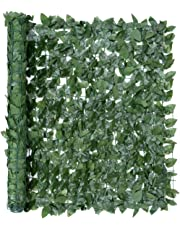 Christow Artificial Hedge Roll Screening Ivy Conifer Green Leaf Garden Fence Privacy Screen 1m x 3m