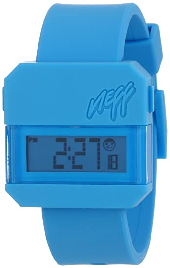 Neff - Reloj unisex de silicona Resistente al agua LCD: Amazon.es: Relojes