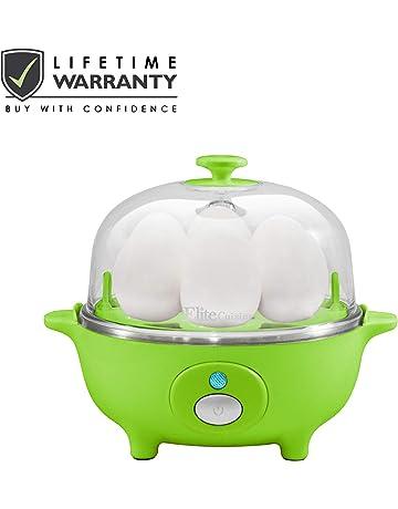 Elite Cuisine EGC-007 Maxi-Matic Egg Poacher & Egg Cooker with 7 Egg