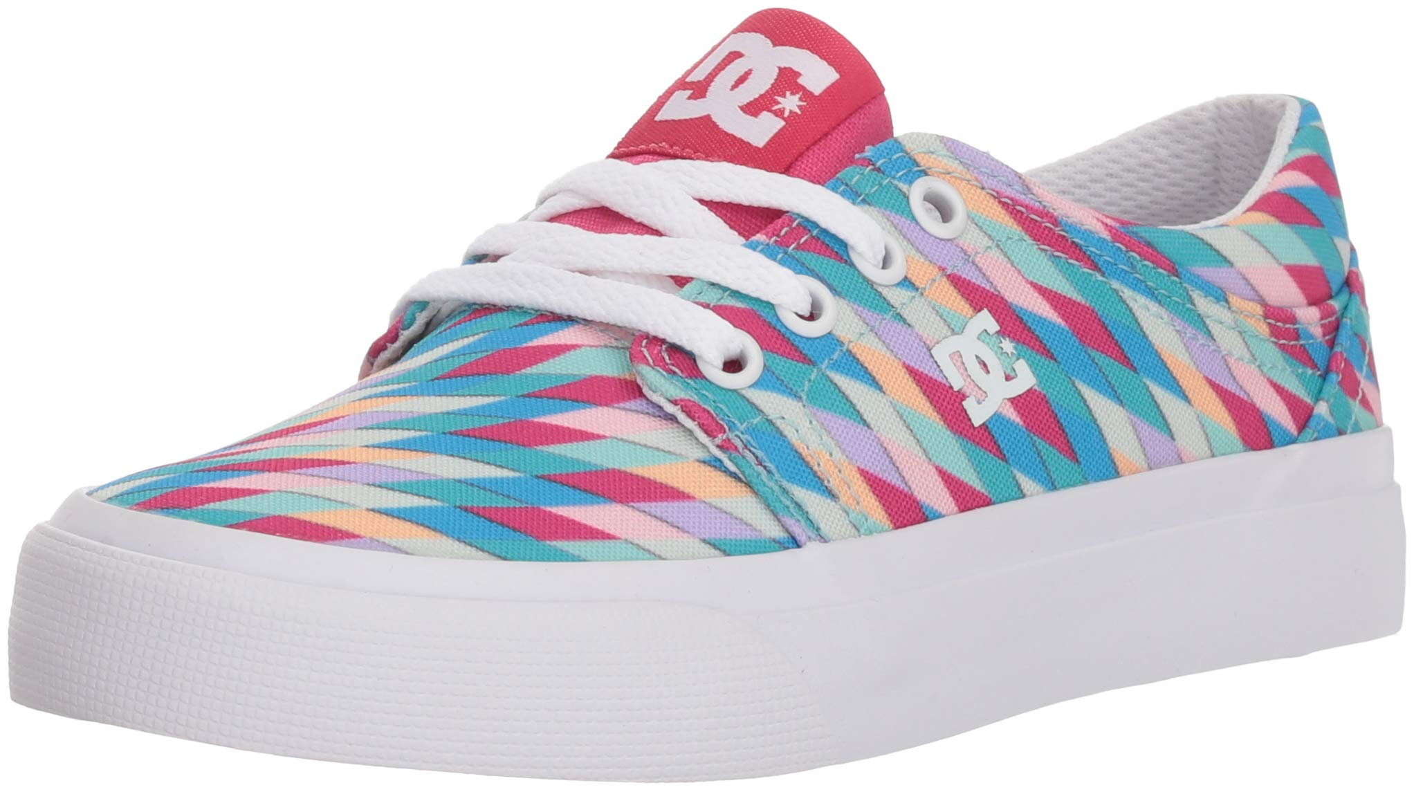 DC Youth Trase SP Skate Shoe (Little Big Kid), Multi, 12.5 M US