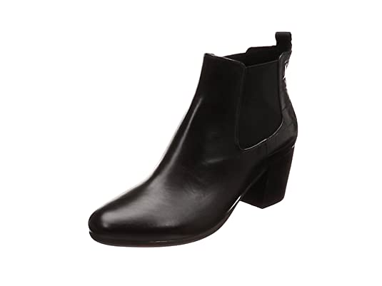 Geox D New Lucinda A, Botines para Mujer, (Black C9999), 35