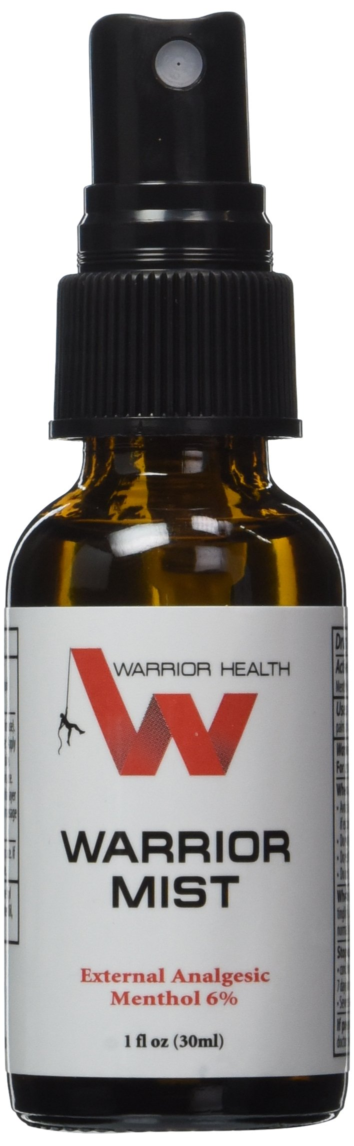 Warrior Mist Natural Topical Pain Reliever, 1 fl. oz.