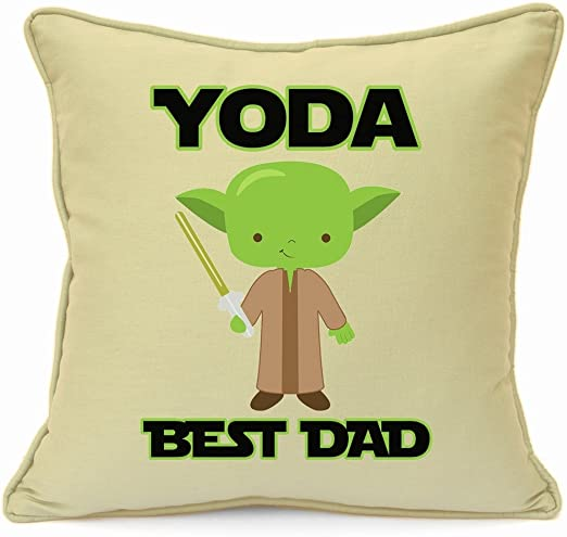 Green Yoda Decorative Pillow, perfect