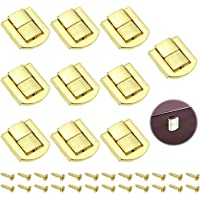 """""""10 Stuks Metalen Kliksluiting Hasps Latch Lock Box Lock Antiek Sluitingen Van Houten Kisten Antiek Kistslot voor…"""