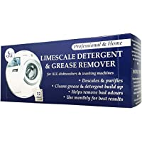 Limescale & Detergent Remover for Washing Machines & Dishwashers 12 Applications 12 months supply.