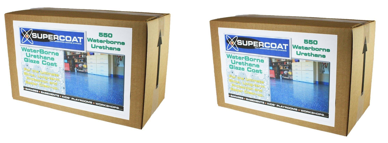 SUPERCOAT Waterborne Urethane Glaze Coat (2 pack)