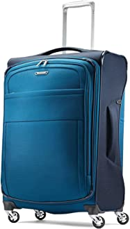 Samsonite Eco-Glide Spinner Medium Expandable Luggage Model: 105688-1548 Midnight Black Checked Medium