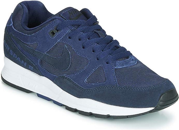 Nike Air Span II Se Zapatillas Moda Hombres Azul Zapatillas Bajas Shoes: Amazon.es: Zapatos y complementos