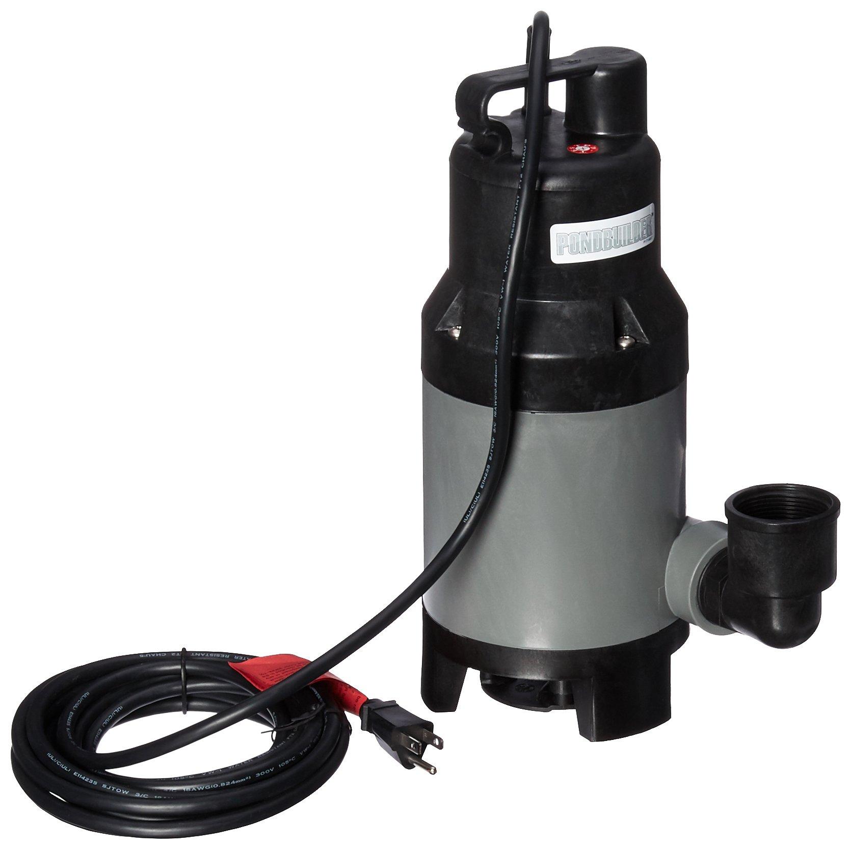 Pond Builder Solids Handling Pump, 3840 GPH by Pond Builder