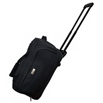 Cabin Size Roller Travel Bag Duffel Bag Hand Luggage Wheeled ...