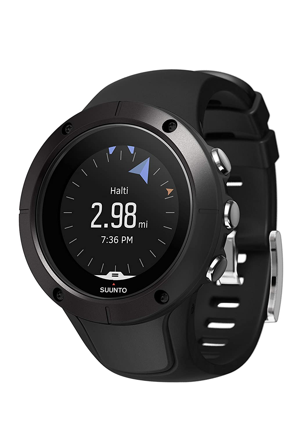 Amazon.com: SUUNTO Spartan Trainer Wrist HR Multisport GPS Watch (Black): Sports & Outdoors
