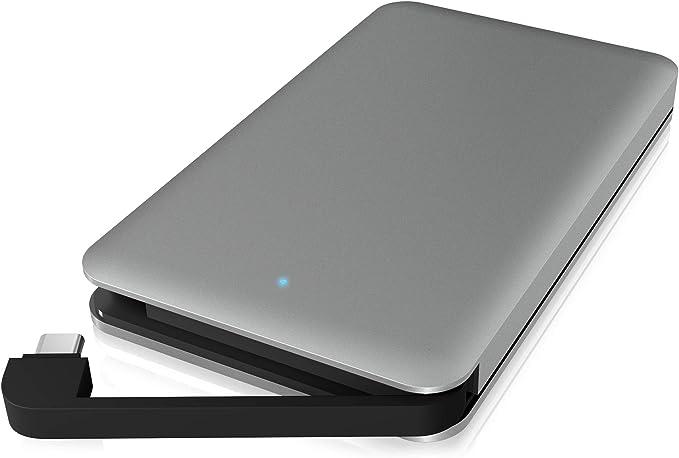 Icy Box Usb C Gehäuse Für 2 5 Zoll Festplatten Und Ssd Computer Zubehör