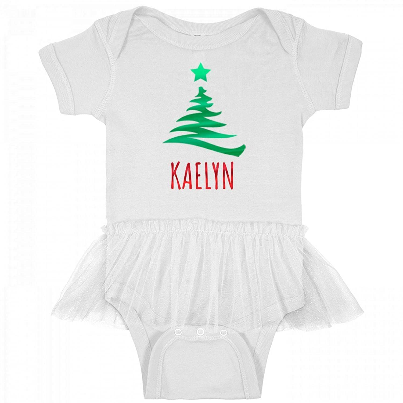 Amazon.com: FUNNYSHIRTS.ORG Baby Girl Kaelyn Metallic Christmas ...