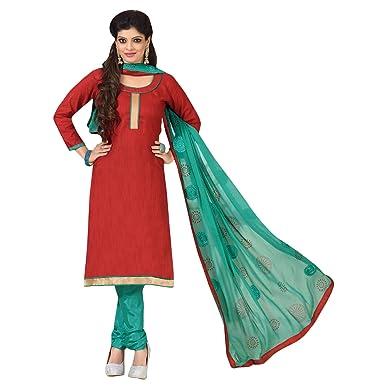 f1c0c65d34 Image Unavailable. Image not available for. Colour: Indian Salwar Kameez  Unstitched Banarasi Jacquard Pakistani Traditional Style Dress ...