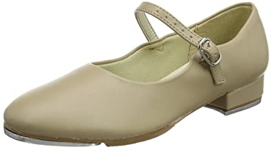 So Danca Ta06/07, Zapatos de Tap para Niñas, Beige (Tan), 33 EU