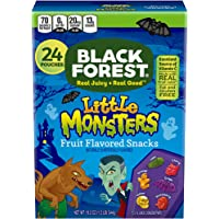 Black Forest Little Monsters Halloween Fruit Snacks, Assorted, 19.2 Oz