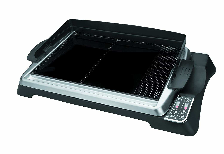 Lacor, Grill elettrico a piastra in acciao insossidabile per cottura Teppanyaki Lacor_69133 69133_