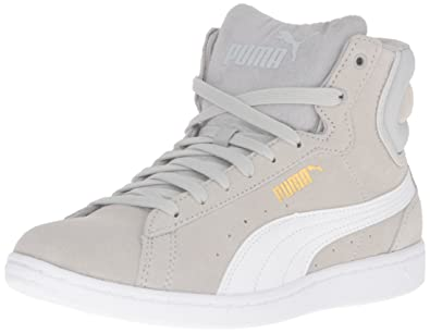 Buy PUMA Women's Vikky Mid Sfoam Fashion Sneaker, Gray