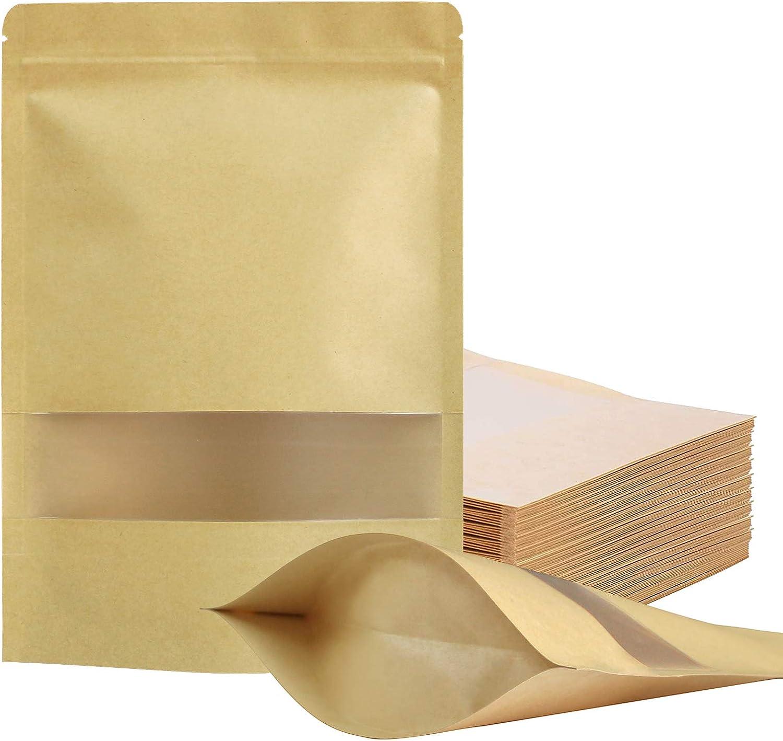 100 Pcs Resealable bags,4.7