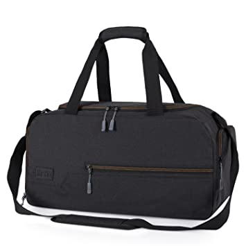 91986d3b2e24bc MarsBro Gym Bag Sports Holdall Travel Weekender Duffel Bag with Shoe  Compartment for Men and Women