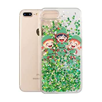 coque iphone 8 glitter liquide