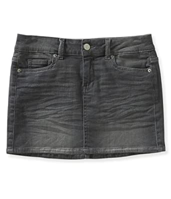 Aeropostale Womens Denim Mini Skirt 035 000 at Amazon Women's ...