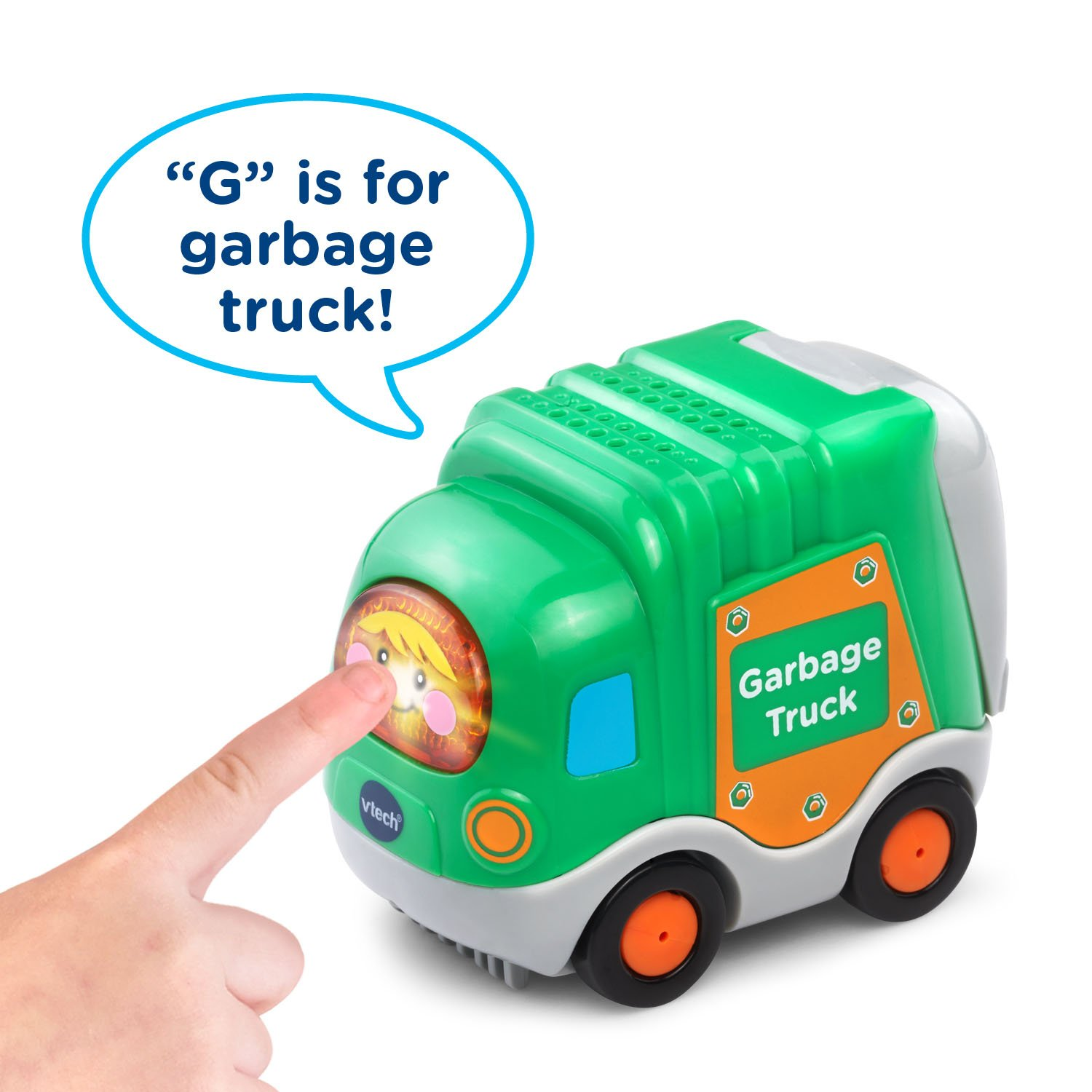 VTech Go! Go! Smart Wheels Garbage Truck and Excavator by VTech (Image #4)