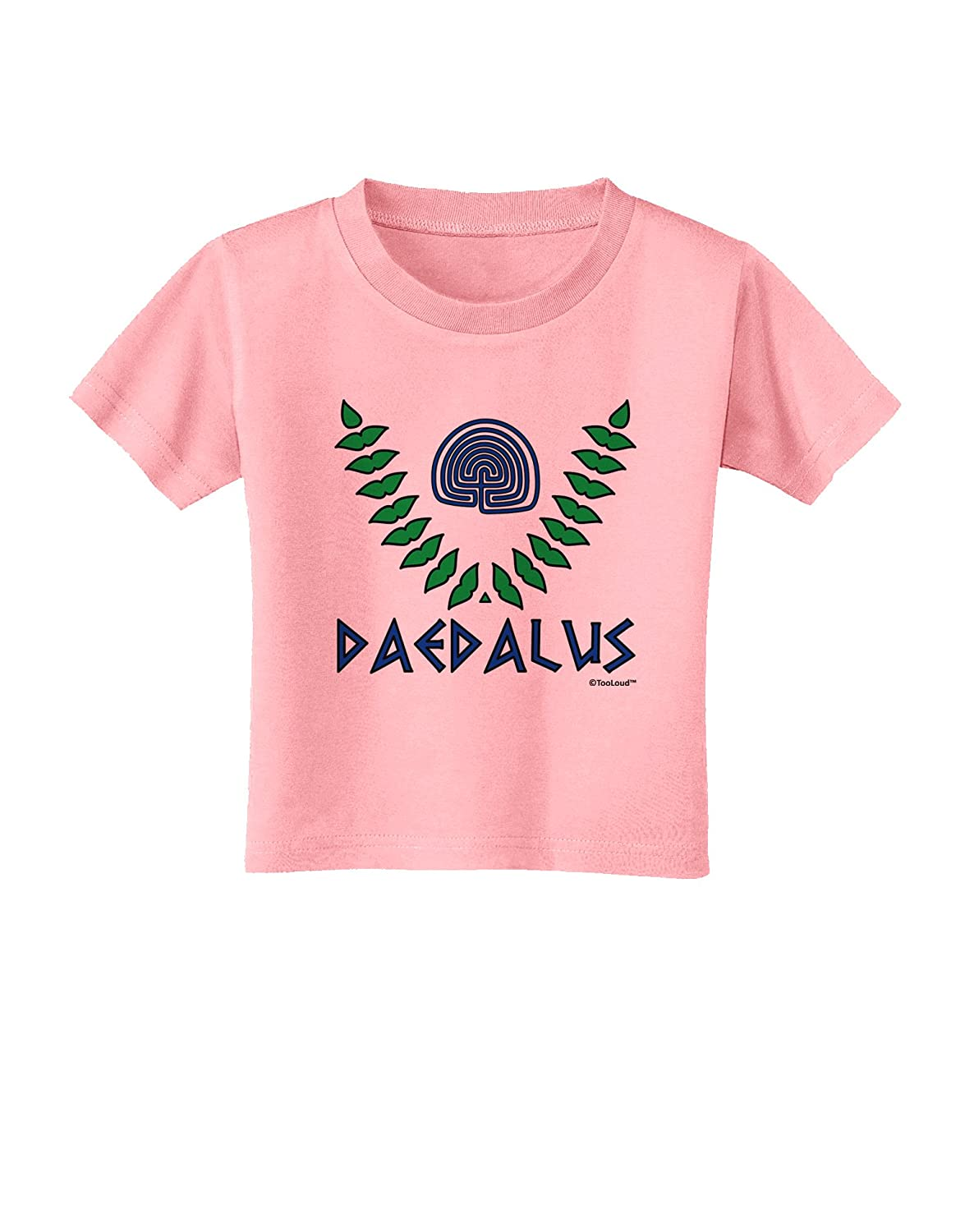 Daedalus Greek Mythology Color Toddler T-Shirt TooLoud Labyrinth
