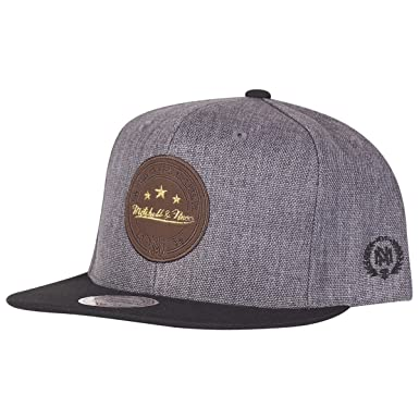 Image Unavailable. Image not available for. Color  Mitchell   Ness Snapback  Cap - Gold Brand Patch 5dc7bc850c95