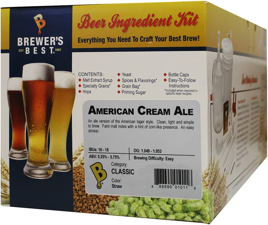 MILK STOUT Brewer/'s Best 5 Gallon Extract Homebrew Ingredient Kit CLASSIC