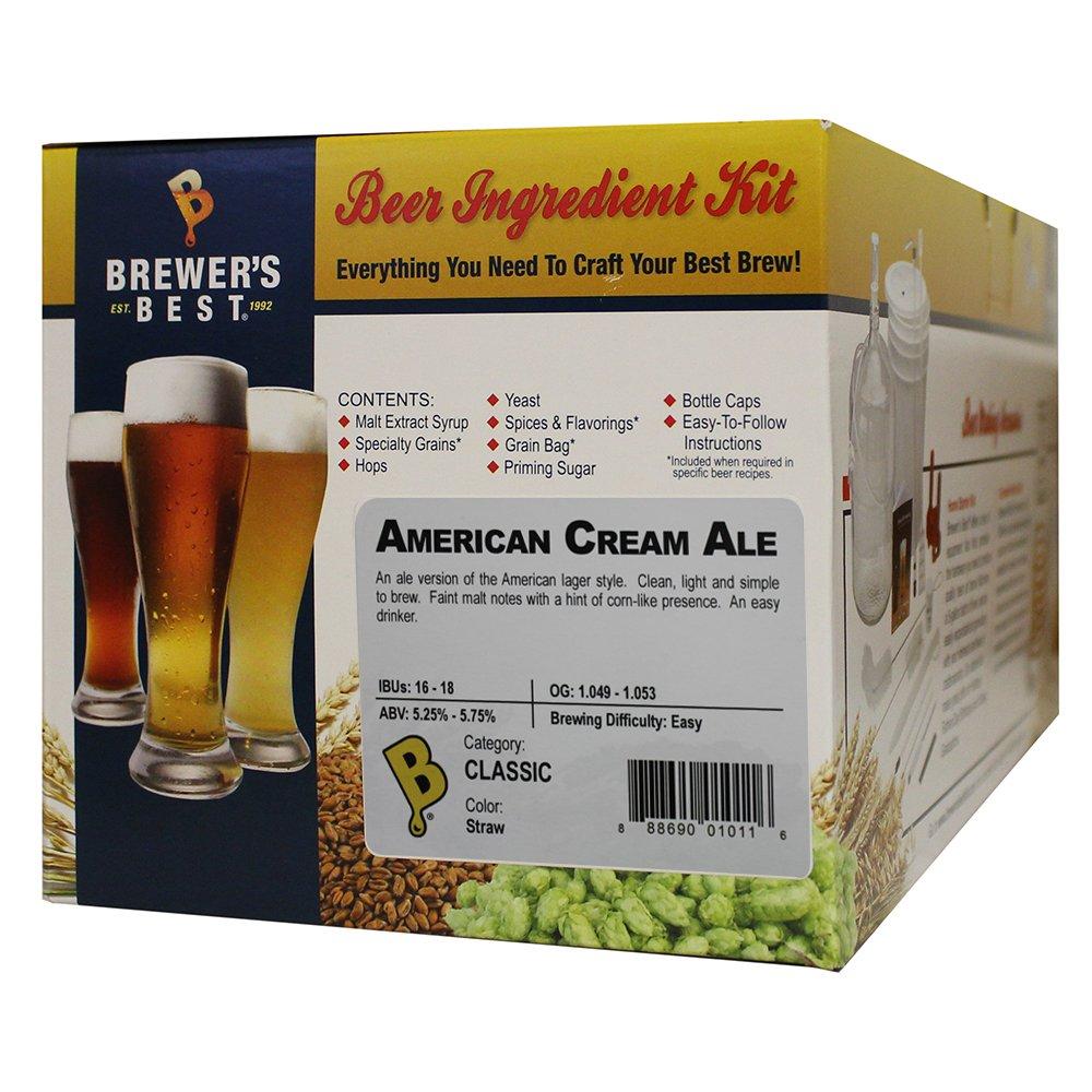 American Cream Ale Homebrew Beer Ingredient Kit by Brewer's Best