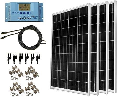 WindyNation 400W Solar Panel Kit
