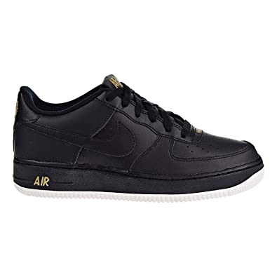 | Nike Air Force 1 (GS) Big Kids Shoes Black